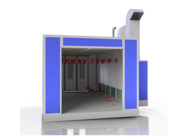 Budowa kabiny lakierniczej